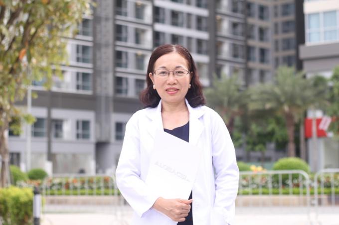 BS Nguyễn Thu Thảo - BS CK1 hiện đang công tác Bệnh viện Q1, Tp. Hồ Chí Minh