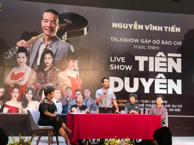 Nhạc sỹ Nguyễn Vĩnh Tiến chia sẻ về đêm nhạc