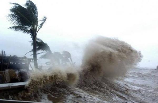 Doksuri là cơn bão mạnh và nguy hiểm với sức gió cấp 11 -12, giật cấp 15. Nguồn:vietnamfinance.vn