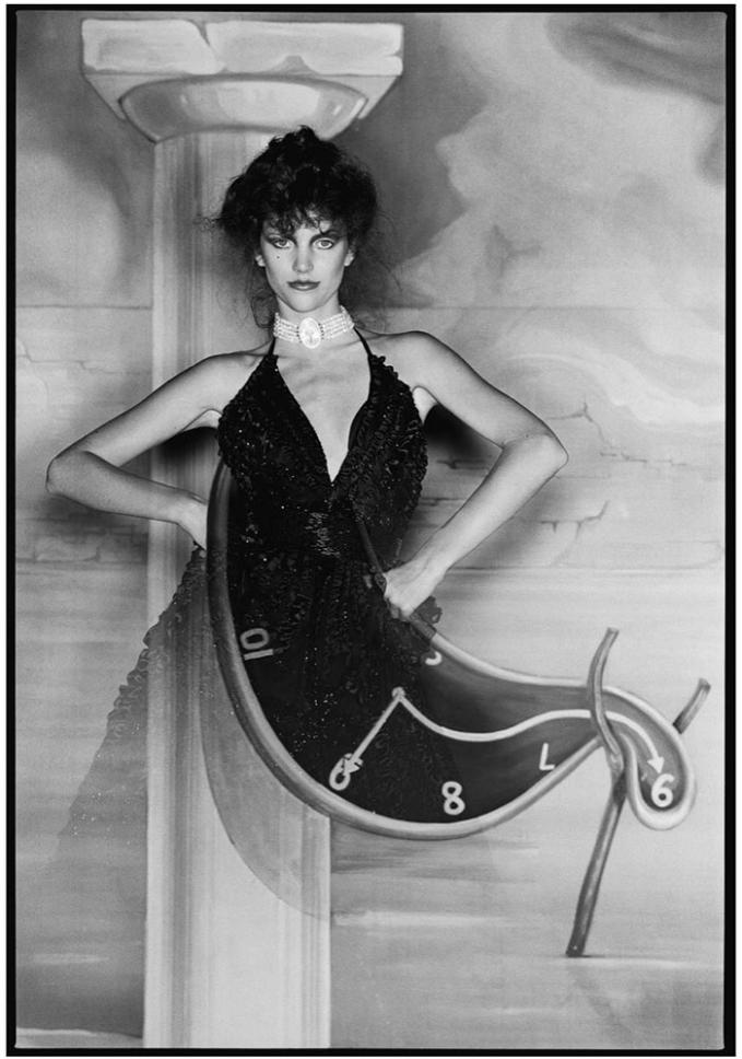 Hình ảnh mô tả chủ đề triển lãm Met Gala 2020 đã được đăng tải rộng rãi qua Instagram. Ảnh: Surreal (1980) do David Bailey thực hiện.