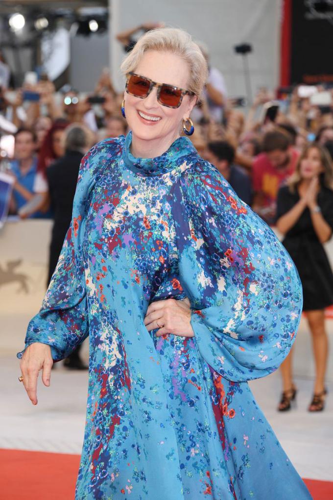 Đây là lần đầu tiên Meryl Streep đến tham dự Met Gala. Ảnh: Getty Images