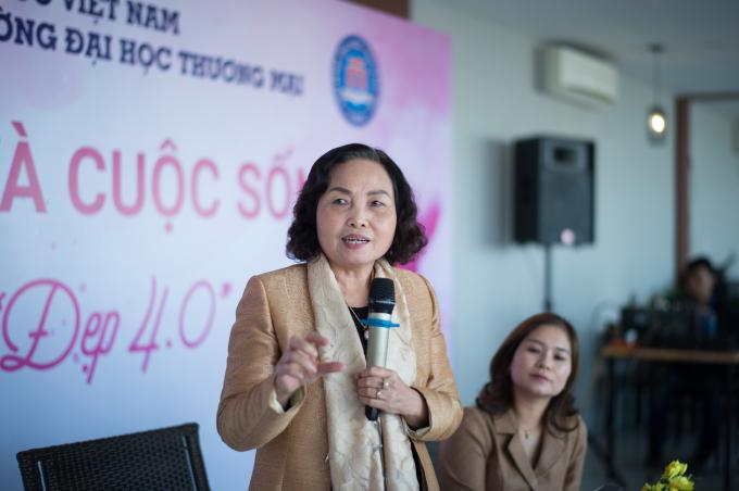 TS Lê Thị Hợp - UVTV, Trưởng ban KH&CN Hội NTT Việt Nam - Nguyên Viện trưởng Viện Dinh dưỡng Quốc gia chia sẻ những vấn đề liên quan đến