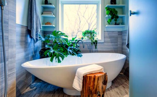 Một chút màu xanh lá tự nhiên sẽ giúp tâm hồn bạn cảm thấy thư thái hơn...Nguồn: kenhphunu.com