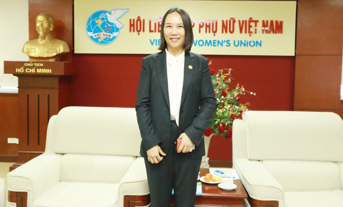 Bà Nguyễn Ngọc Cẩm là người phụ nữ gốc Việt đầu tiên tranh cử vào Quốc hội Hàn Quốc. Nguồn:phunuvietnam.vn