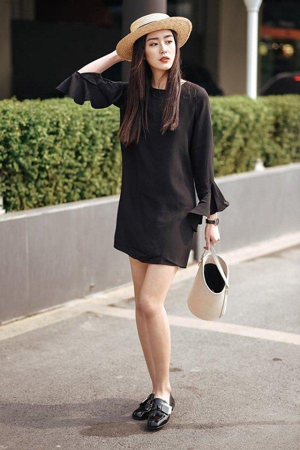 Chẳng có gì giúp giấu eo đồ sộ đỉnh bằng váy suông. Nguồn:vtimes.com.au