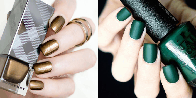Những mẫu nail đơn sắc, tưởng chừng tối giản sẽ nhạt nhòa, nhưng thực sự vô cùng quyến rũ. Nguồn: lacongaithattuyet.vn