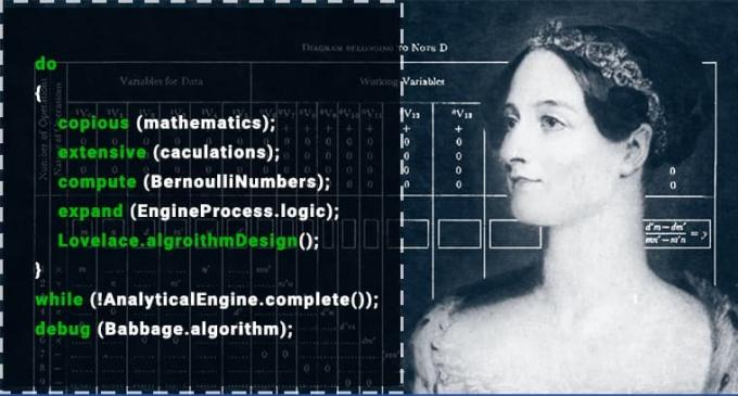 Ada Lovelace được coi là nhà lập trình đầu tiên trên thế giới. Nguồn: aptechvietnam.com.vn