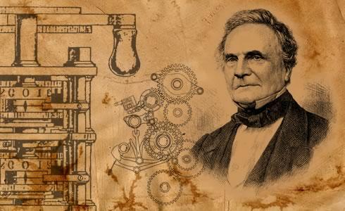 Charles Babbage - một kỹ sư, một nhà thiên văn học và cũng là một nhà phát minh người Anh. Nguồn: thinglink.com