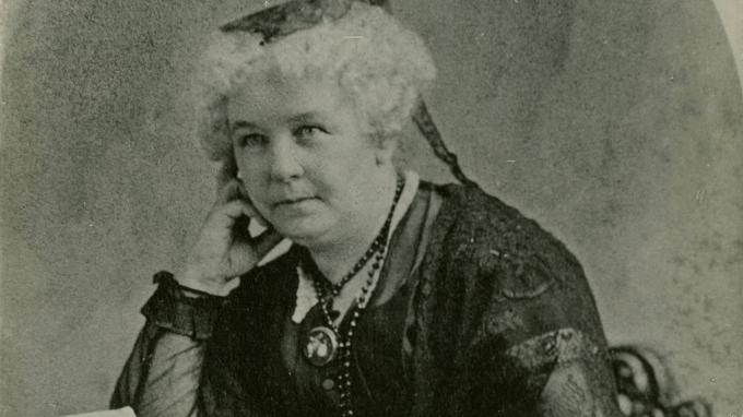 Elizabeth Cady Stantonlà một người bạn và là người đồng sáng tác Lịch sử của Nữ quyền với Susan B. Anthony. Nguồn:wmht.org