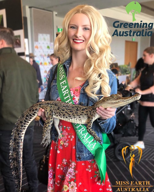 Ước mơ trong tương lai của Hoa hậu Trái Đất Australia 2020là hoạt động trong lĩnh vực bảo vệ động vật hoang dã như những huyền thoạiDavid AttenboroughvàJane Goodall.