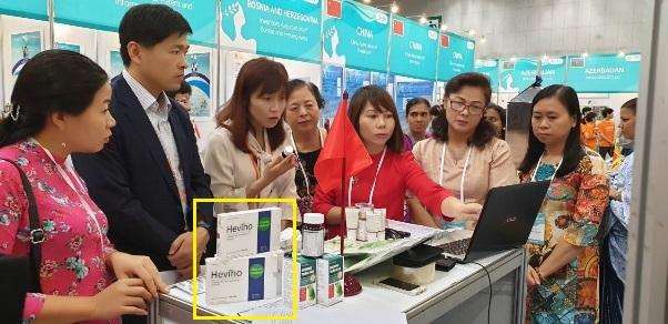 """PGS. TS Lê Minh Hà tham dự và báo cáo đề tài nghiên cứu S3 – Elebosin tại """"Triển lãm Quốc tế phụ nữ sáng chế lần thứ 12"""" diễn ra tại Seoul, Hàn Quốc."""
