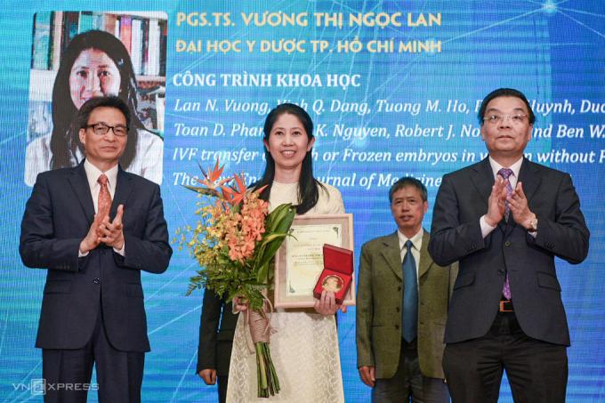 PGS.TS. BS Vương Thị Ngọc Lan (Đại học Y Dược TP.HCM)