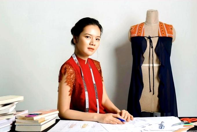 Nhà thiết kế Ngọc Anh - người sáng lập hãng thời trang La Phạm