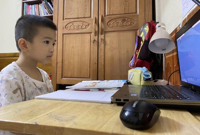 Minh Khang - Học sinh trường TH Quỳnh Mai