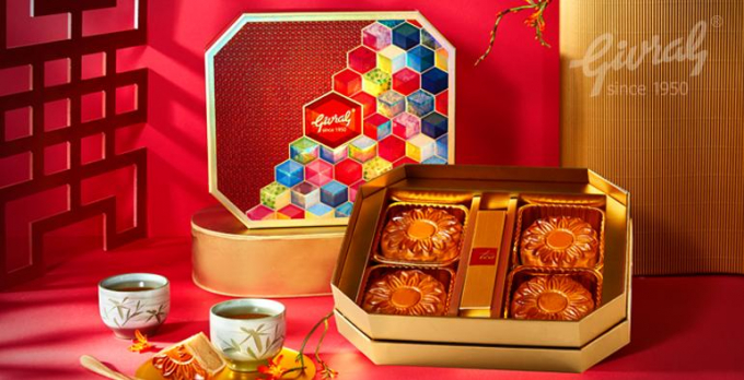 Bánh trung thu Givralnổitiếngtrên thị trường là thương hiệu bánh trung thu đắt nhất ở Việt Nam.