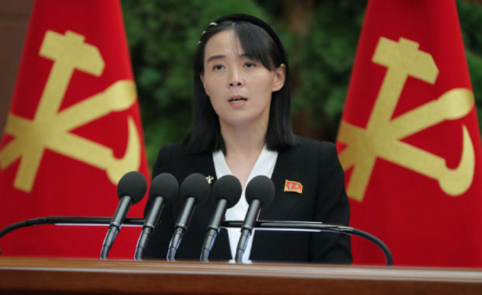 Đối với các mối quan hệ liên Triều, Kim Yo Jongthường đưa ra nhữngthông điệp một cách khá