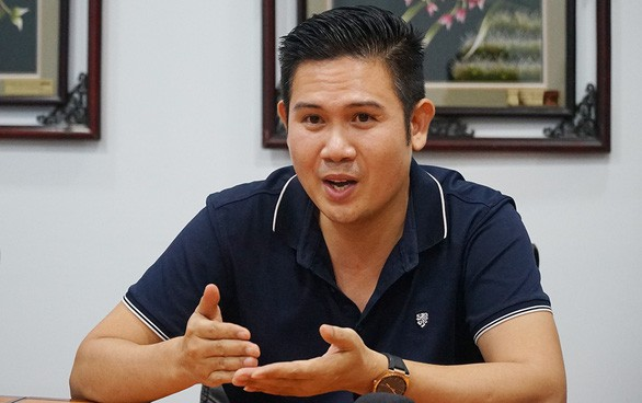 Ông Phạm Văn Tam - chủ tịch Tập đoàn điện tử Asanzo Việt Nam.