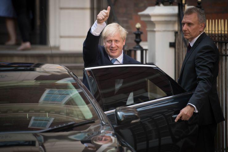 Tân thủ tướng AnhBoris Johnson.