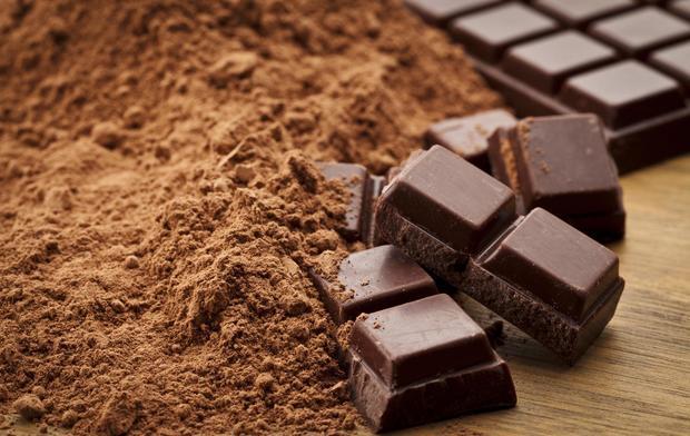 Chocolate đen có chứa nhiều chất chống oxy hóa mạnh
