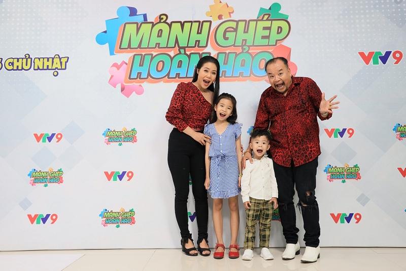 Gia đình nhỏ của Tam Thanh – Ngọc Phú.