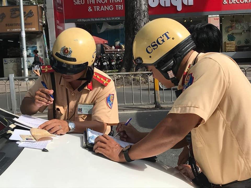 Từ ngày 15/7, CSGT TP.HCM đóng chốt tại các bến xe, sân bay, quán nhậu… để xử lý vi phạm