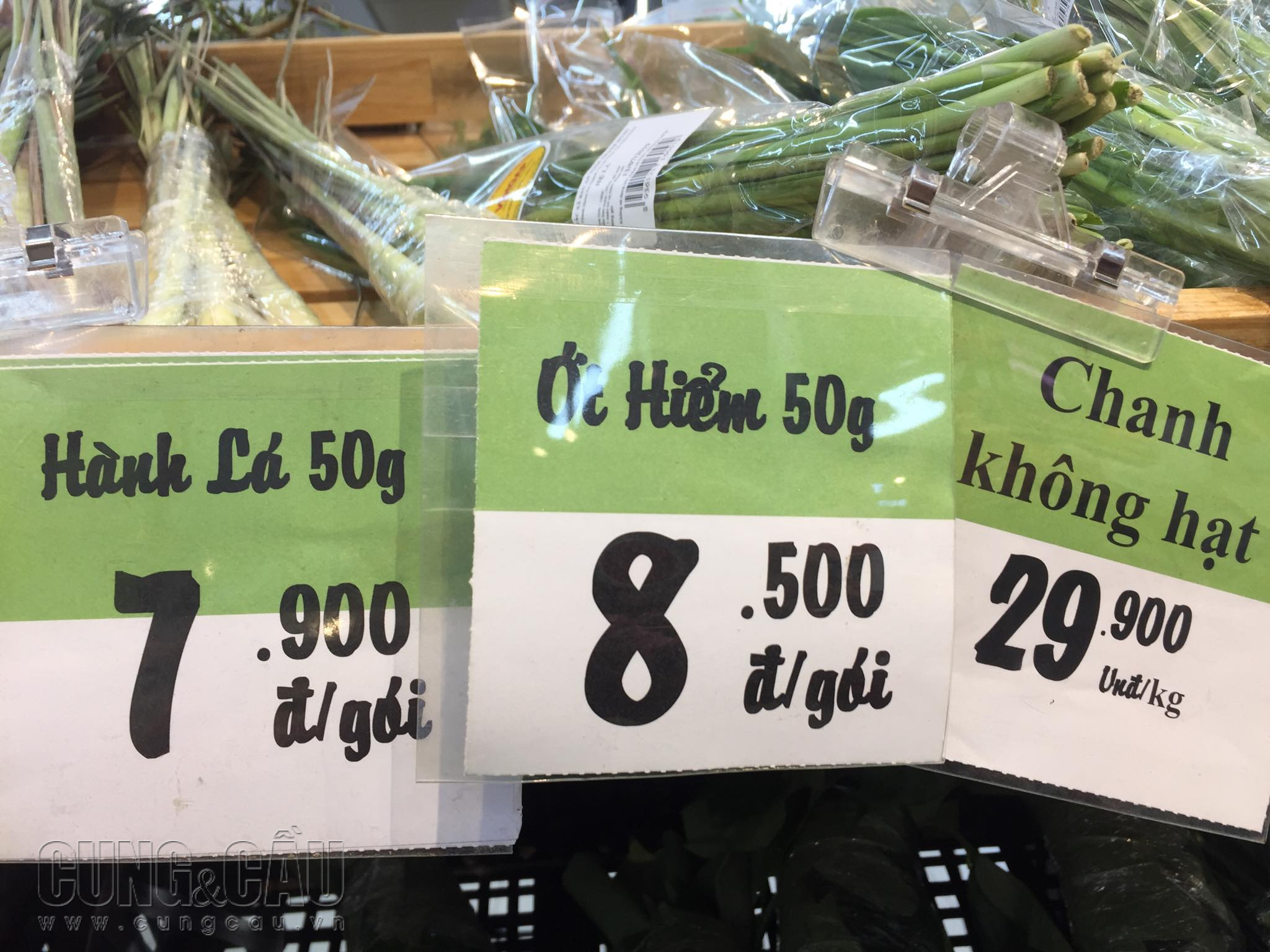 Giá ớt hiểm tại Big C.