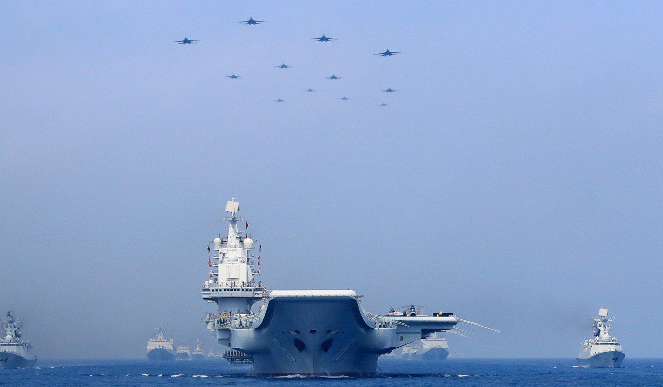 PLA tổ chức các cuộc tập trận quân sự thường xuyên ở vùng biển và bầu trời quanh Đài Loan.Ảnh: Reuters