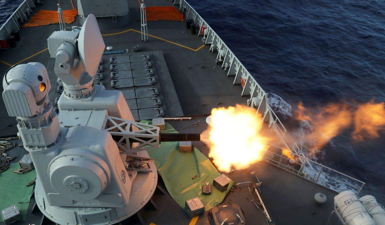 Thông báo của Bắc Kinh về cuộc tập trận quân sự diễn ra chưa đầy một tuần sau khi Mỹ đồng ý thỏa thuận vũ khí trị giá hàng tỷ USD với Đài Loan.Ảnh: Chinamil.com.cn