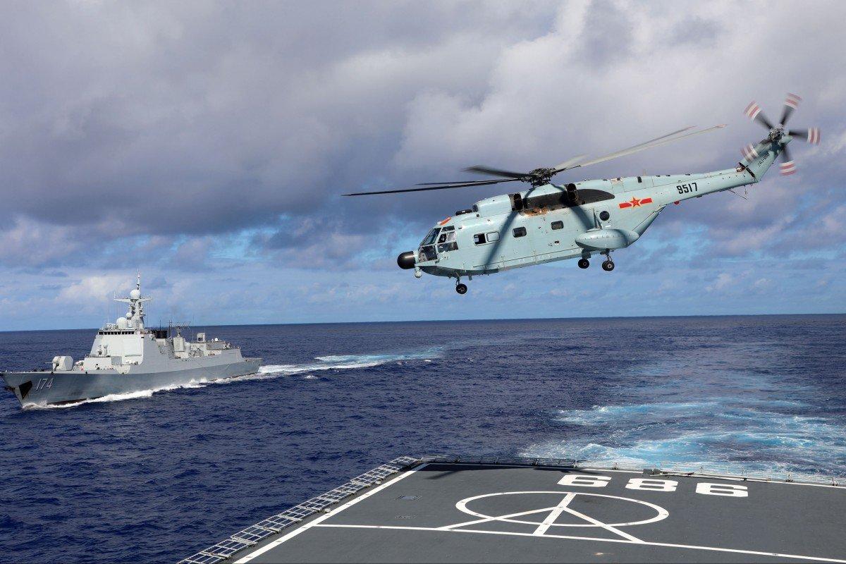 Bắc Kinh cho biết, các lực lượng không quân và hải quân của họ sẽ tổ chức một cuộc tập trận quân sự thường lệ gần eo biển Đài Loan trong những ngày tới.Ảnh: Chinamil.com.cn