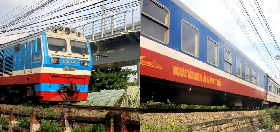Trước ngày bị tháo dỡ cầu đường sắt này vẫn hoạt động bình thường.