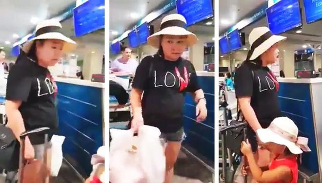 Bà Lê Thị Hiện bị cấm bay 12 tháng và chịu kiểm tra trực quan khi đi máy bay trong 12 tháng tiếp theo.