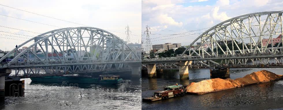 Những hình ảnh cuối cùng của cầu đường sắt Bình Lợi trước ngày tháo dỡ