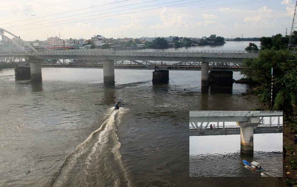 Cầu Bình Lợi là cầu đường sắt vượt sông Sài Gòn đầu tiên được xây dựng năm 1902, chiều dài 276m, gồm 6 nhịp.