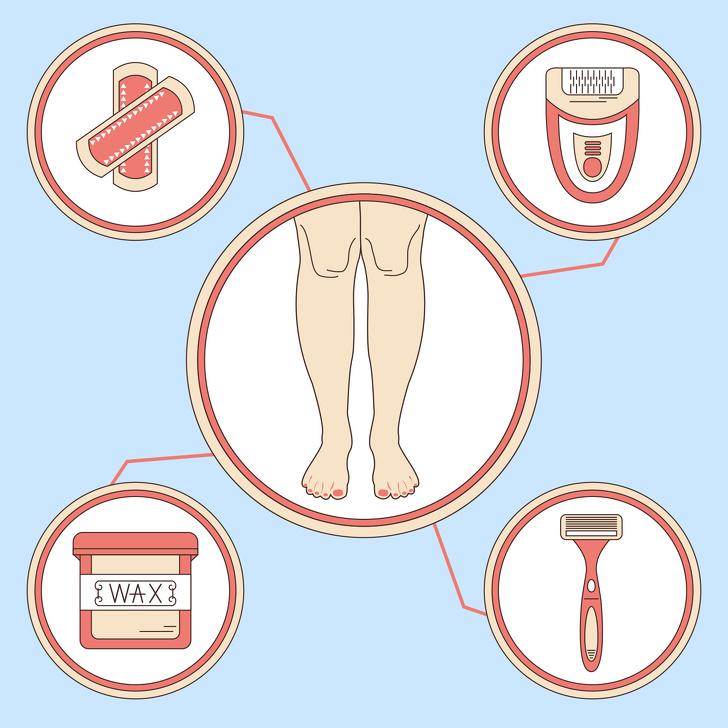 8 dấu hiệu chứng tỏ bạn đang tẩy lông sai cách, khiến lông mọc rậm rạp hơn