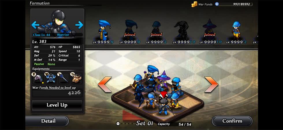 Tựa game kết hợp giữa chiến thuật và nhập vai khá thú vị. Trò chơi này cung cấp cho bạn hơn 25 nhân vật chính diện và 35 kẻ thù bạn phải đối mặt. Ngoài ra, còn có một loạt các công cụ để làm và các cấp độ để hoàn thành.