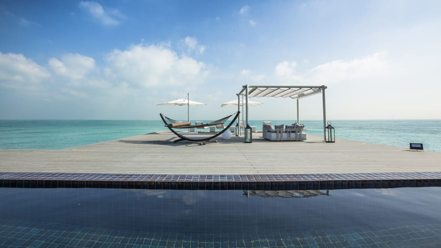 Các căn biệt thự trên hòn đảo Zaya Nurai, Abu Dhabi, có giá từ 1 - 20 triệu USD.