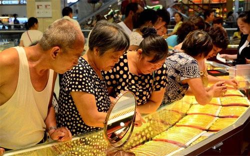 Vàng SJC tăng 100.000 đồng/lượng.
