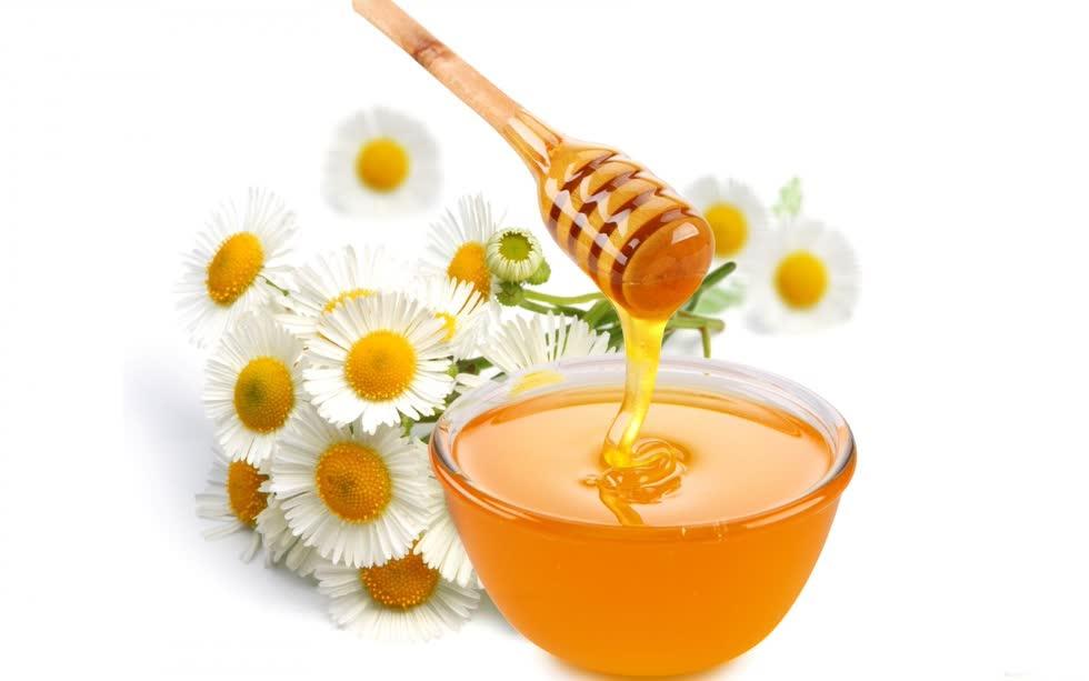 Mật ong nguyên chất.