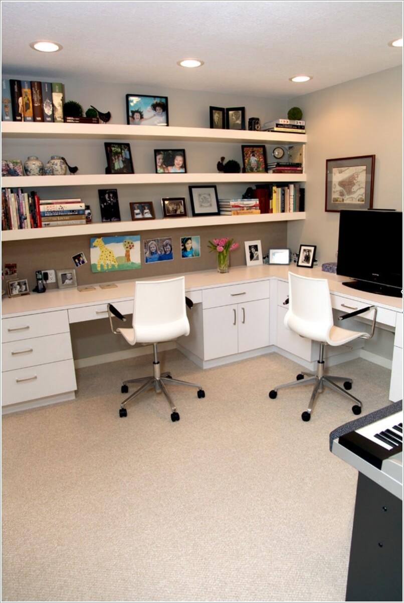 Cách thiết kế văn phòng nhỏ tại nhà mang tính ứng dụng cao