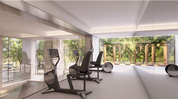 Ngoài ra, bất động sản này còn có những tiện nghi sang trọng khác, chẳng hạnnhư khu vực spa và bể bơi trên sân thượng.