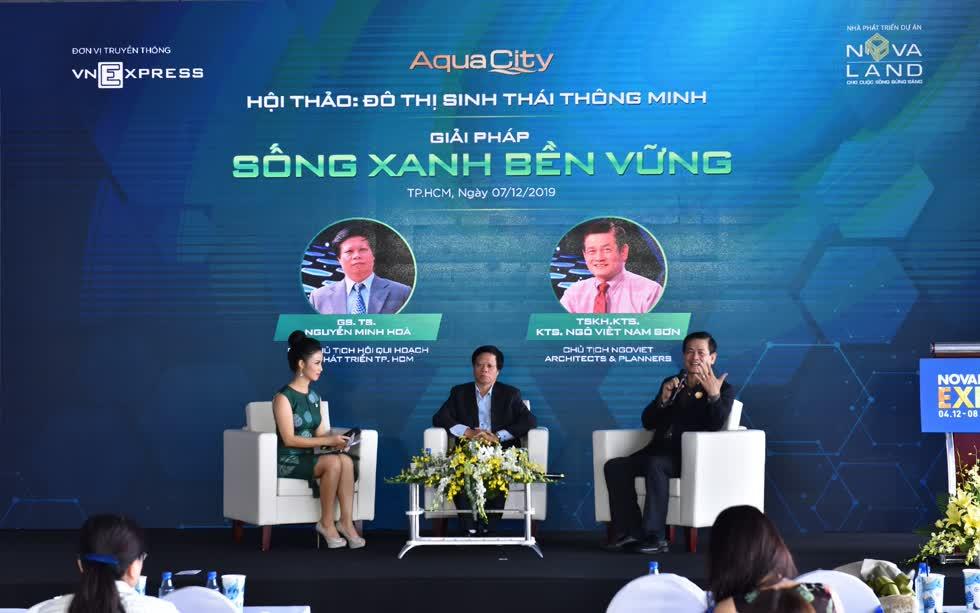 Trong Hội thảo chủ đề giải pháp sống xanh mới đây, các chuyên gia về quy hoạch đô thị nhận định, việc phát triển các khu đô thị sinh thái là xu hướng tất yếu.