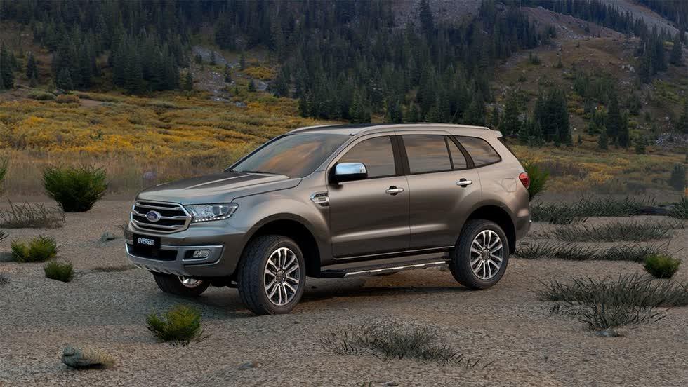Ford Everest 2020 được bổ sung một số tiện nghi và không thay đổi giá.