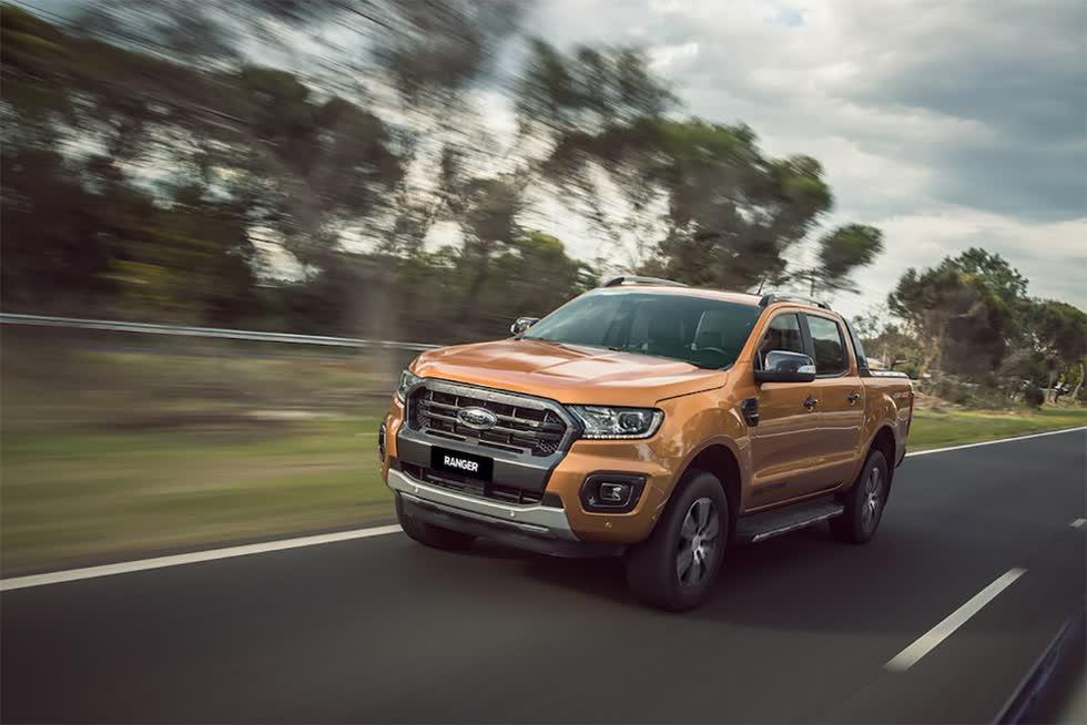 Ford Ranger Limited 2020 - phiên bản giá rẻ của Ranger Ưildtrak.