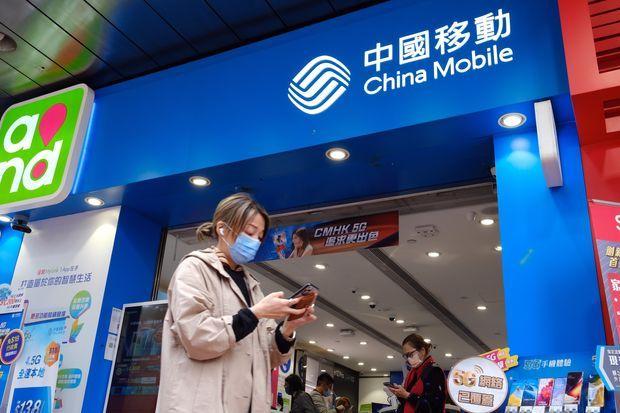 Bị xóa niêm yết, ba công ty viễn thông Trung Quốc mất 5,6 tỷ USD.