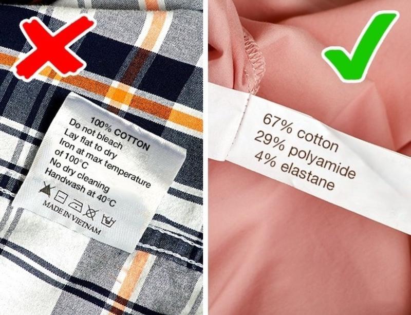 Mẹo giúp bạn tránh mua phải quần áo dỏm