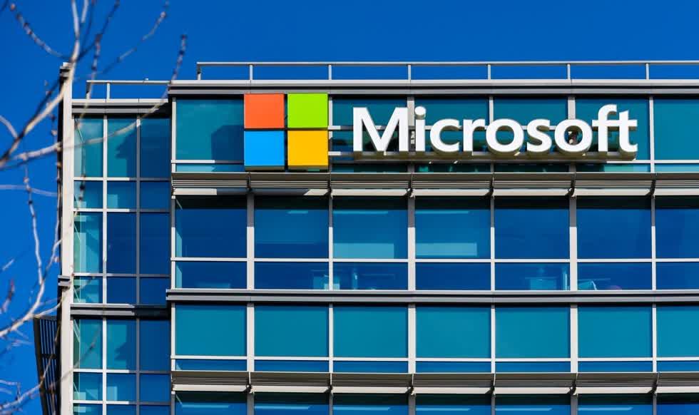 Công ty Microsoft Corp (MSFT). Ảnh:Pinterest.