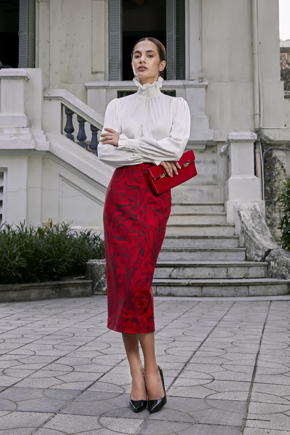 Thời trang mùa lạnh phong cách châu Âu sang chảnh