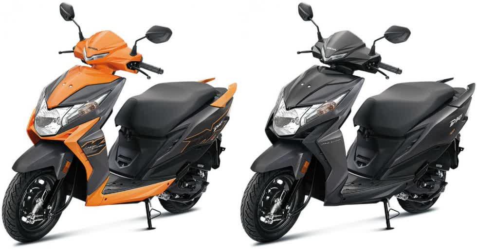 Honda Dio cam - đen