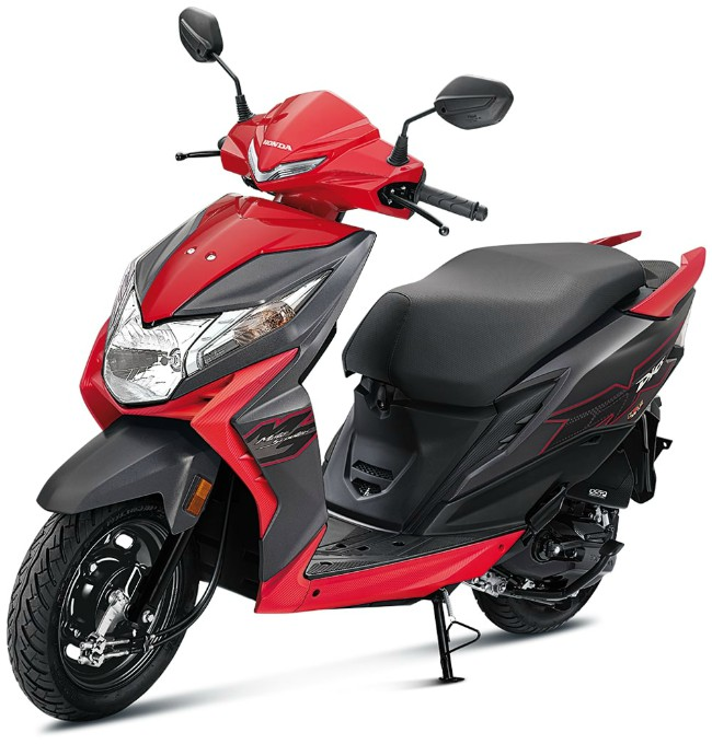 Honda Dio đỏ