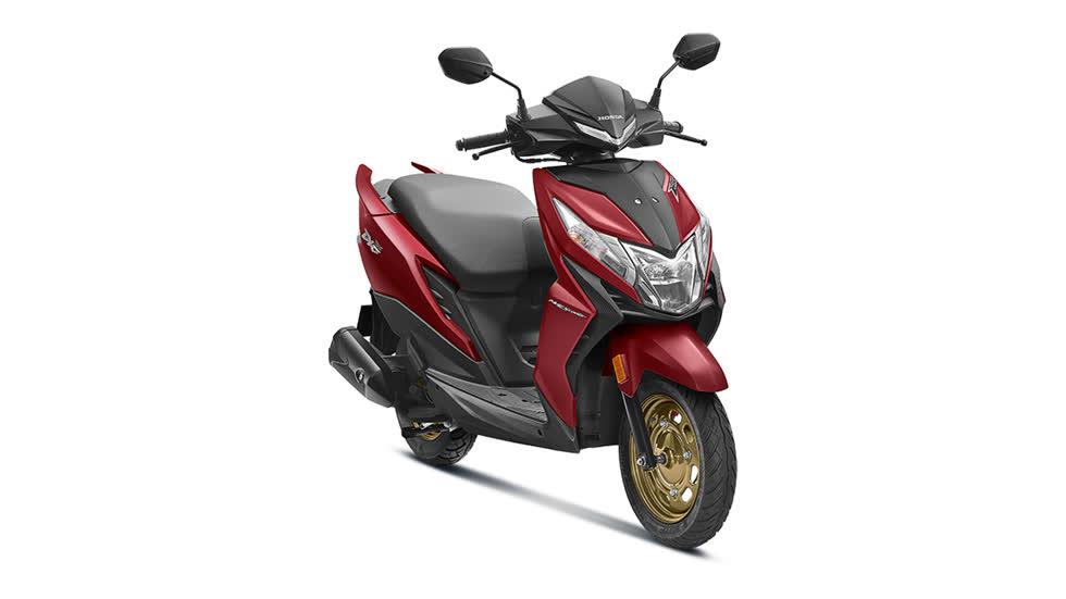 Honda Dio 2020 thế hệ mới có thiết kế đậm chất thể thao.